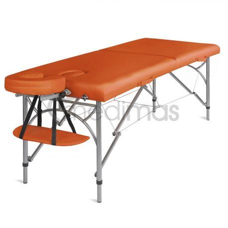 Hopfällbar 2-sektions massagebänk i aluminium Ultra 2