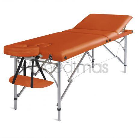Hopfällbar 3-sektions massagebänk i aluminium Ultra 3