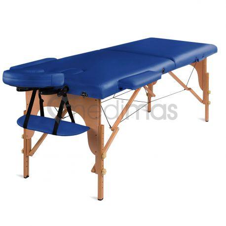 Hopfällbar 2-sektions massagebänk i trä Prosport 2